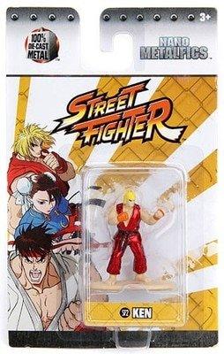 Street Fighter Ken (SF2) 1.5 Inch Diecast Nano Metal Figure by Jada