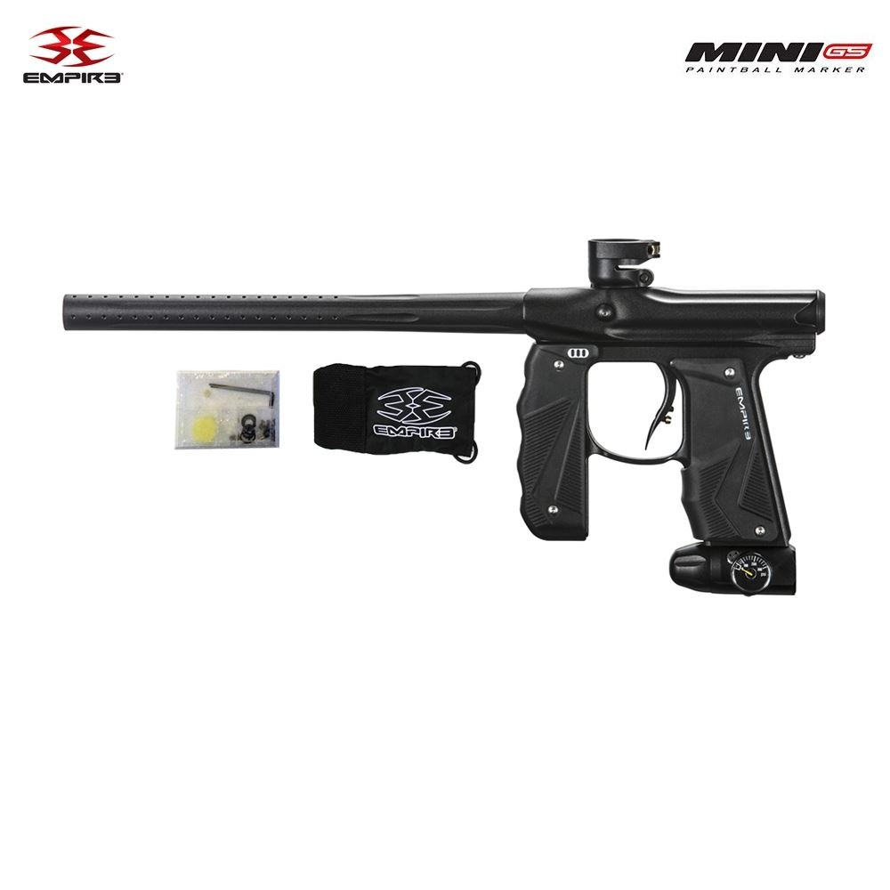 Empire Paintball Mini GS Marker, Black by Empire Paintball