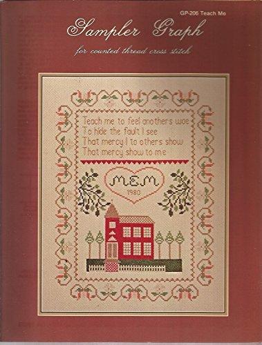 (TEACH ME... Sampler Graph Cross Stitch leaflet by Maryann Moreck)