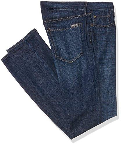 Eddie Bauer Oyfriend Leg, Jean Slim Femme Bleu (Heritage Wash 074)