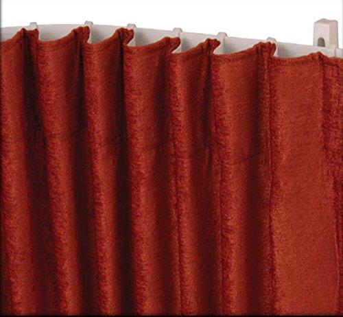 pista fuerte plegable pedazos para 3 pistas Pista de la cortina del pl/ástico de los 500cm para las ventanas de la bah/ía y las ventanas rectas 19 Gu/ía de la p/ágina C/ómo medir y ajustar incluido por Cu /¡Gratis