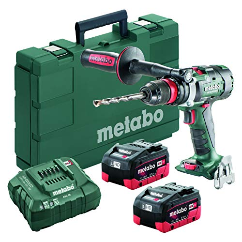 Metabo – 18V Brushless 3-Speed Drill/Driver Kit 2X 5.5Ah Lihd (602355620 18 LTX-3 BL Q I 5Drills & Drill/Drivers