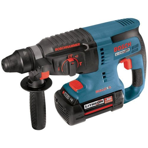 Factory-Reconditioned Bosch 11536VSR-RT 36-Volt Lithium-Ion 1-Inch SDS-Plus Rotary Hammer by Bosch