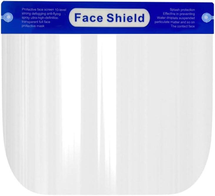 Aceite de Doble Cara Anti-Fog Anti Splash Transparente Decdeal protecci/ón Facial Visera Transparente Safety Pantalla Facial Cocina cocinar Ojo Protecci/ón