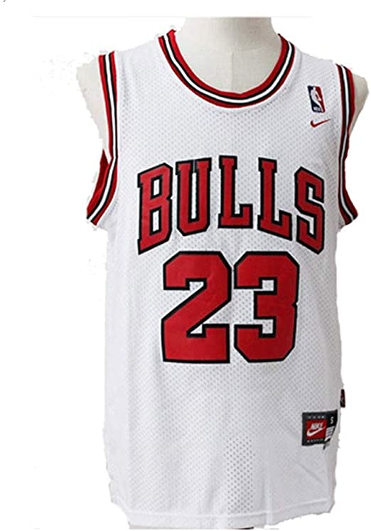 LinkLvoe Camiseta de Baloncesto NBA Michael Jordan # 23 Chicago Bulls para Hombres, los fieles Seguidores de Los Angeles Lakers y Lebron James no Deben perderse Esta Camiseta: Amazon.es: Jardín