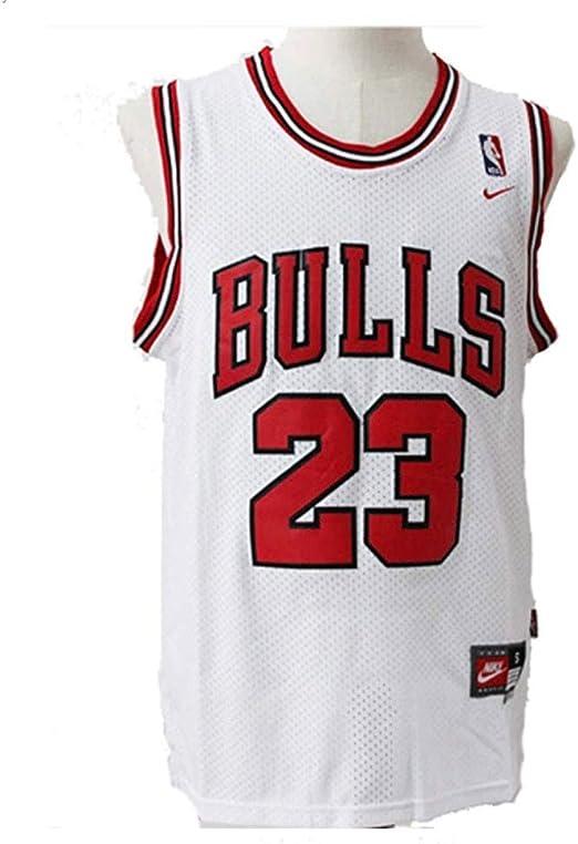 Foairs Camiseta de Baloncesto NBA Michael Jordan # 23 Chicago Bulls para Hombres, los fieles Seguidores de Los Angeles Lakers y Lebron James no Deben perderse Esta Camiseta: Amazon.es: Ropa y accesorios