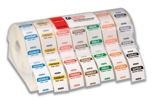 National Checking Company Kit, Refill Labels: R101 - R107-1 each. by National Checking