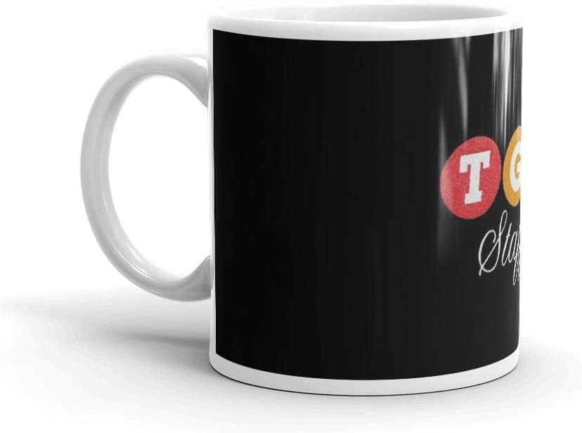 TGS Staff Logo. 11 Oz Ceramic Glossy Gift For Coffee Lovers Quote Mug Gifts For Men & Women. 11 Oz Ceramic Coffee Mugs With C-shape Handle, Comfortable To Hold