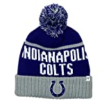 NFL Indianapolis Colts Linesman Cuff Knit Cap with Pom