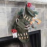 RUCKUP RUXMTSG Tactical Christmas Stocking, OD Green, Full