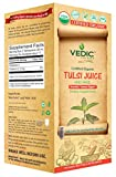 Tulsi Juice 500 Milliliter USDA Certified Organic Juice by Vedic Juices
