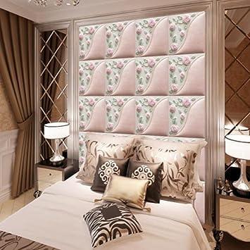 Merveilleux HUANG YA HUI Peintures Murales La Tête De Lit Style Mur Chaud Et Romantique  Rose Simili