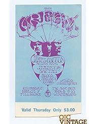 Bill Graham 110 Ticket The Cream Blood Sweat and Tears 1968 Mar 7