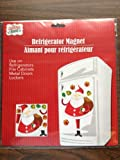 Large Magnetic Santa Claus Refrigerator Set