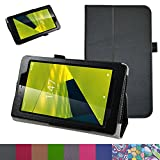 Alcatel OneTouch Pixi 4 7 Case,Mama Mouth PU Leather Folio 2-folding Stand Cover for 7