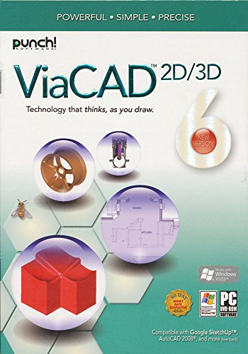 Punch! ViaCAD 6 2D/3D for Windows by Punch! Software