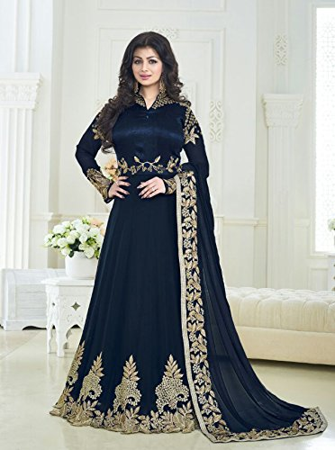 Readymade-Partywear-indianpakistani-salwar-Anarkali-Suit-SF-116F4F11-LARGE-42-Dark-Blue