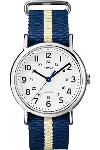 Timex T2P142PF – Reloj de pulsera unisex, bicolor