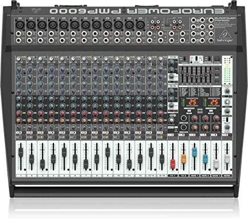 Behringer Europower PMP6000: Amazon.es: Instrumentos musicales