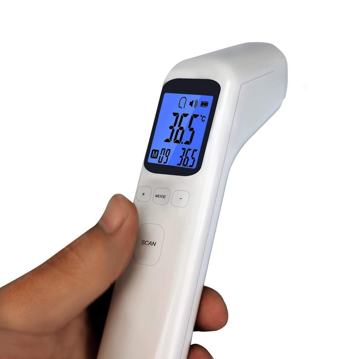 Thermometer Portable, Digital Medical, 10 Second Reading, Accurate Temperature and Humidity Detector, for Home Office