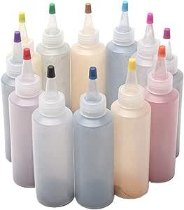 ORETG45 Kit de 12 tintes anudados para manualidades, ropa de graffiti, pinturas textiles, pigmentos, seguros, coloridos, no tóxicos, seguros