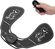 EMS Hip Trainer, 15 Levels Strength Pink Black Wireless 10.2 X 7.9in Buttock Massage Stimulator for Exercising