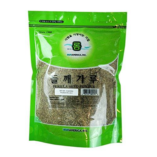 ROM AMERICA - Perilla Seeds Powder [ 1 Pound ] (America Seed)