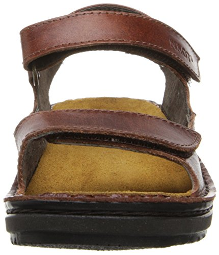 Naot Womens Karenna Leather Sandals Brown