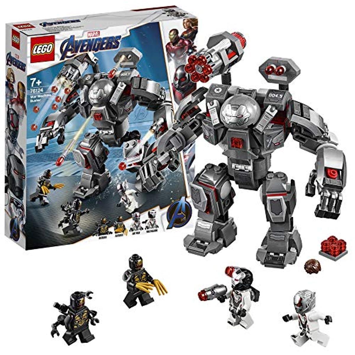[해외] 레고(LEGO) 슈퍼히어로즈 워머신 버스터 76124