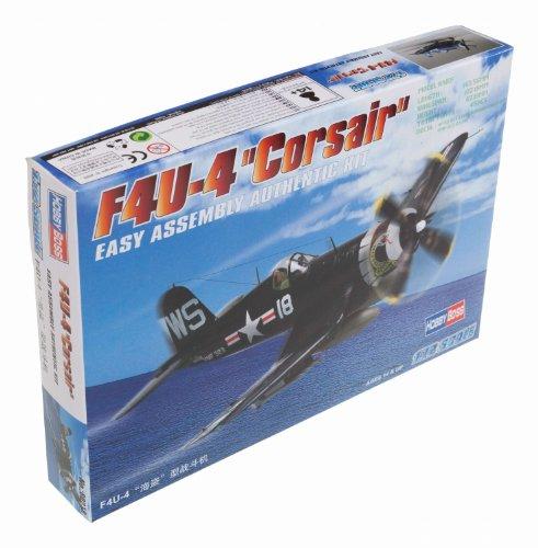 Hobby Boss F4U-4 Corsair Airplane Model Building (Usmc F4u Corsair)