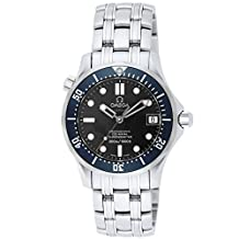 Omega Men's Seamaster 300M Chrono Diver Watch Blue 2222.8