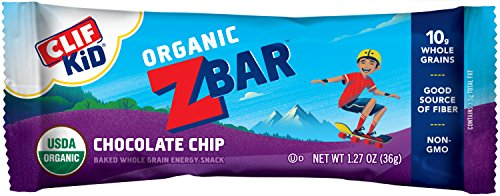 CLIF KID ZBAR - Organic Energy Bar - Chocolate Chip -