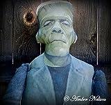 Huge Frankenstein Door Hanger Doll - Handmade Halloween - FREE Pillow Attachment - 62 x 20 Inch