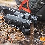 Maven B2 45mm ED Binocular (9X45, Gray/Orange)