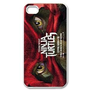 Hjqi - Customized Teenage Mutant Ninja Turtles Phone Case, Teenage Mutant Ninja Turtles Custom Case for iPhone 4,4G,4S