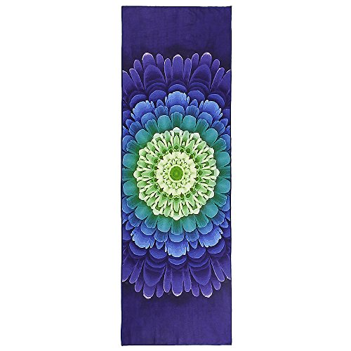 Favobodinn Yoga Mat Towel Super Skidless Microfiber Yoga Towel with Nice Organza Gift Bag for Hot Yoga, Bikram and Pilates (24