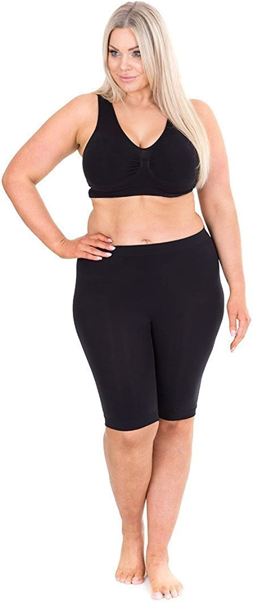 Sonsee Anti Chafing Lightweight Breathable Plus Size Underwear Slip Shorts