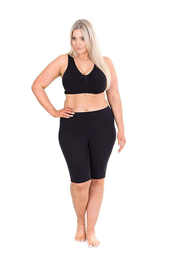 Sonsee Anti Chafing Lightweight Breathable Plus Size Underwear Shorts