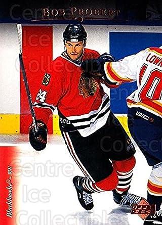 Amazon.com  (CI) Bob Probert Hockey Card 1995-96 Upper Deck (base ... d5c31795e