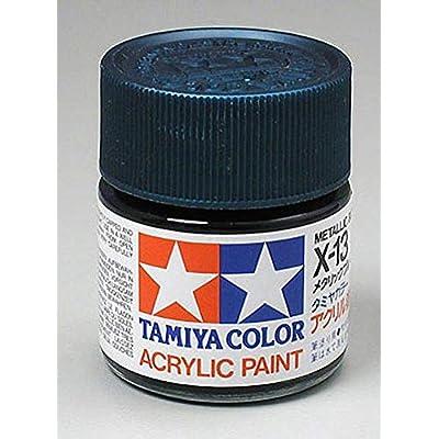 Tamiya America, Inc Acrylic X13 Gloss,Metal Blue, TAM81013: Toys & Games
