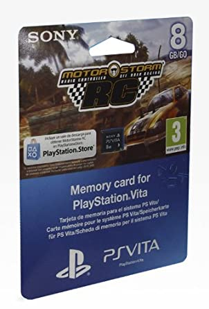PS Vita - Tarjeta De Memoria De 8GB + MotorStorm Voucher ...