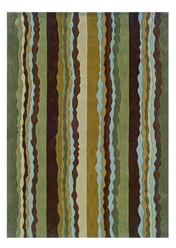 Linon Trio Collection Spa Blue, 5 x 7, Green by Linon (Image #1)
