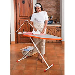 Bathla X-Pres Ace Lite – Foldable Ironing Board with Aluminised Ironing Surface (Silver)