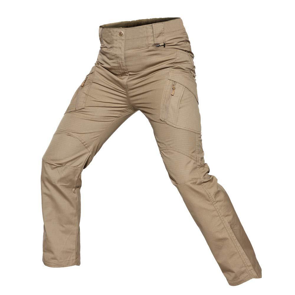 Pantalones de Trabajo para Hombre Amlaiworld Pantalones Tipo Cargo para Hombres Pantalones de Trekking Pantalones de Trabajo de Hombre Grande chandals ...