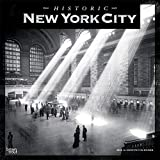 New York City Historic 2020 12 x 12 Inch Monthly Square Wall Calendar with Foil Stamped Cover, USA United States of America New York State Northeast City