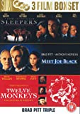 Brad Pitt: Sleepers/Meet Joe Black/Twelve Monkeys [Region 2]