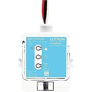 Lutron RMJ-5T-DV-B 120-277V Pow Pak Wireless Dimming Module