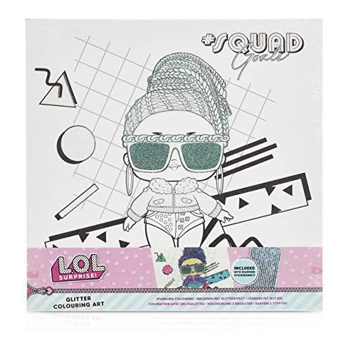 L.O.L. Surprise! Set de Pintura Completo de Las Muñecas LOL Surprise, Kit Manualidades para Niñas Incluye Lienzo y…