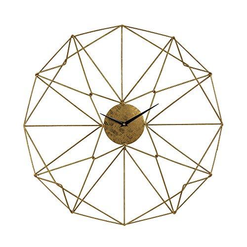 Geometric Clock - Sterling Industries Angular Wirework Wall Clock