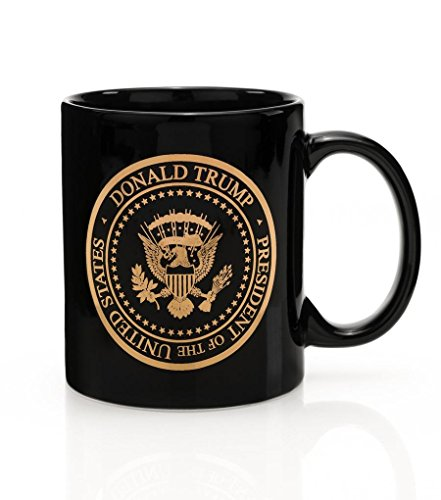 (Presidential Gold Seal Coffee Mug - Limited Edition 45th President Donald J. Trump)